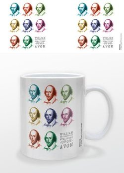 Caneca William Shakespeare - Pop Art