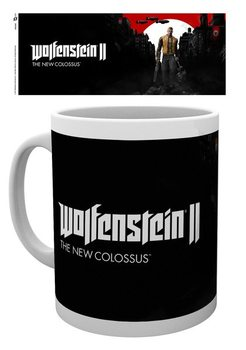Caneca Wolfenstein 2 - Key Art