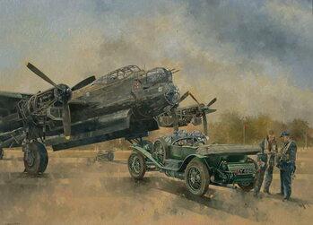 A Lancaster and a Bentley, 2000 Canvas Print