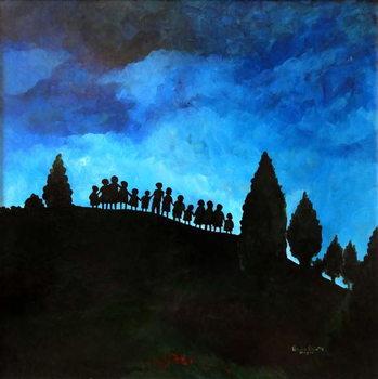A New Dawn Rising, 2008, Canvas Print