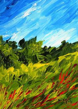 A walk in Puilboro, 2009 Canvas Print