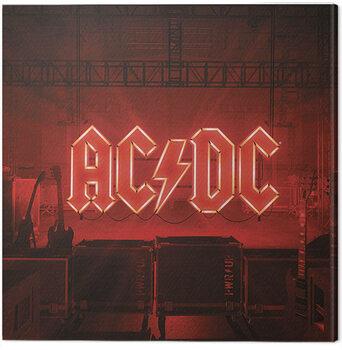 Canvas Print AC/DC - PWR/UP