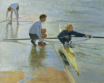 Adjustments at Henley, 1999-2000 Canvas Print