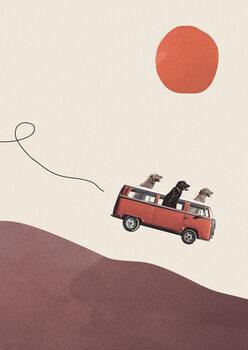 Canvas Print Adventure gang