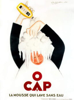 Advertisment by Leonetto Cappiello for O'Cap shampoo 1930 Canvas Print
