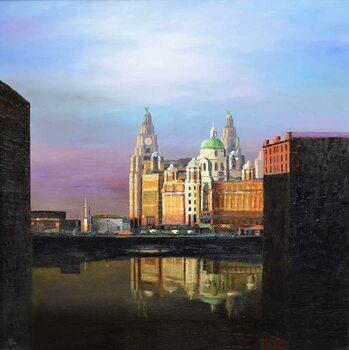 Albert Dock, Liverpool, 2008 Canvas Print