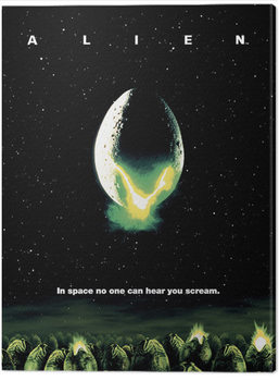 Canvas Print Alien - One Sheet