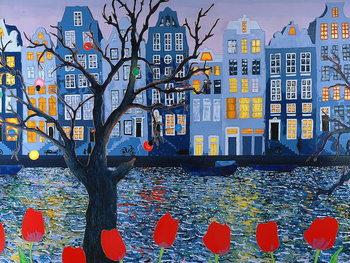 Amsterdam, 2008, Canvas Print