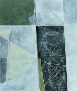 Ancient Landscape, 1982 Canvas Print