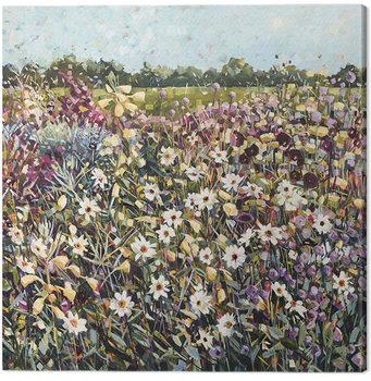 Canvas Print Anne-Marie Butlin - Late Summer Garden