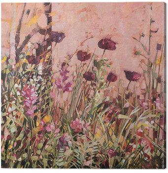 Anne-Marie Butlin - Mediterranean Garden 2 Canvas Print