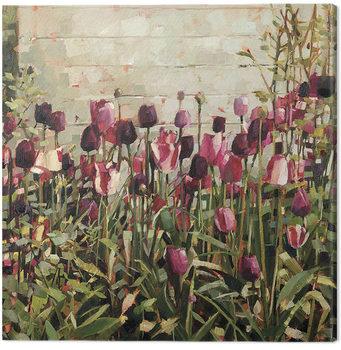 Canvas Print Anne-Marie Butlin - Tulip Garden