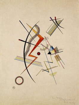 Canvas Print Annual Gift to the Kandinsky Society; Jahresgabe fur die Kandinsky-Gesellschaft