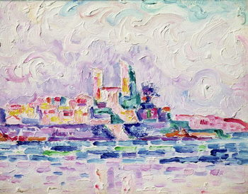 Canvas Print Antibes (study), 1918-19