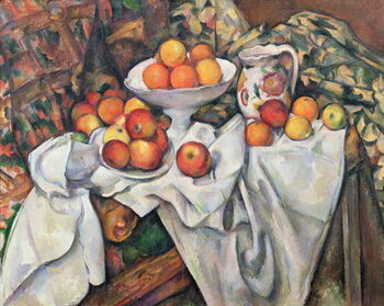Canvas Print Apples and Oranges