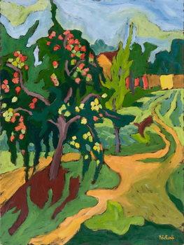 Appletree, 2006 Canvas Print