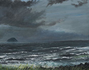 Approaching Storm, 2007, Canvas Print