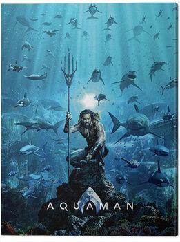 Canvas Print Aquaman - Teaser