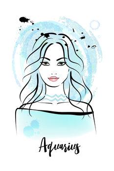 Canvas Print Aquarius