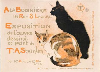 Canvas Print At the Bodiniere, 1894