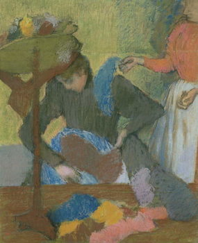 At the Milliner's, c.1898 Canvas Print