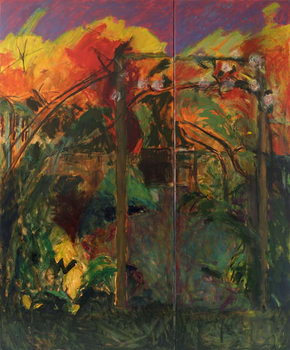 Autumn Garden, 2012-14, Canvas Print