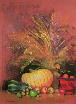 Canvas Print Autumn Harvest