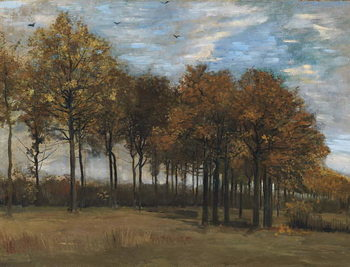 Canvas Print Autumn Landscape, c.1885