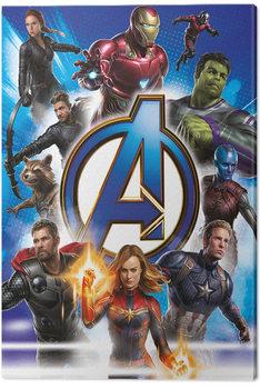 Canvas Print Avengers: Endgame - Avengers Unite