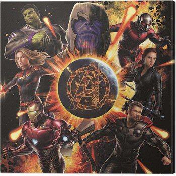 Canvas Print Avengers: Endgame - Explosion