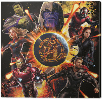 Avengers: Endgame - Explosion Canvas Print