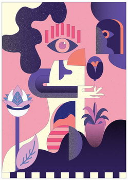 Awakening, 2018, Canvas Print
