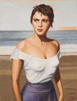 B-Girl Canvas Print