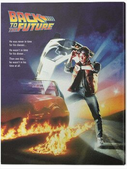 Canvas Print Back to the Future - One Sheet