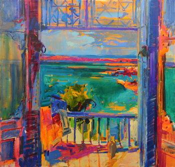 Balcon de Paradis Canvas Print