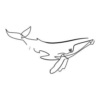 Balena Canvas Print