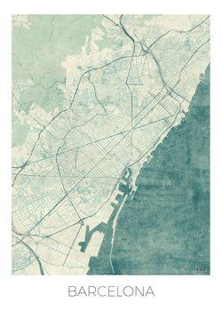 Canvas Print Barcelona
