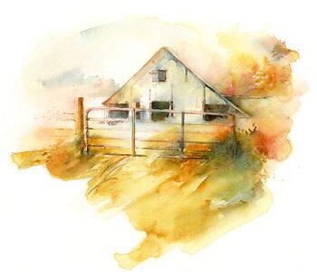 Canvas Print Barn in Pleasant Hill 1, 2016,