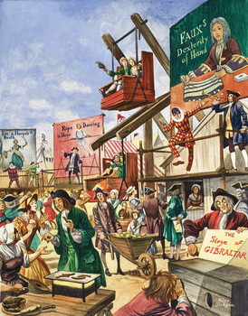 Bartholomew Fair Canvas Print