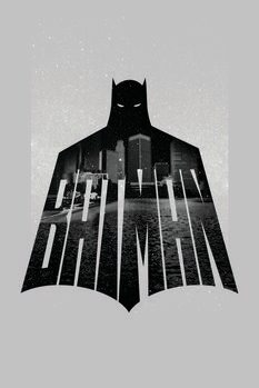 Canvas Print Batman - Beauty of Flight