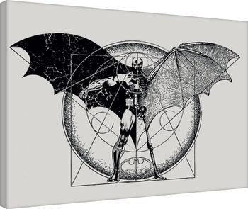Batman - Dark Arts Canvas Print