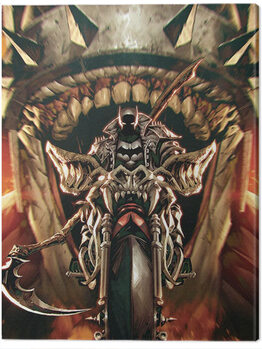 Batman - Death Metal Bat Out of Hell Canvas Print