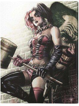 Canvas Print Batman - Harley Quinn Pose
