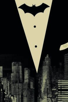 Canvas Print Batman - In the City