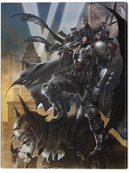 Canvas Print Batman - Locked and Loaded