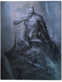 Batman - One with the Night Canvas Print