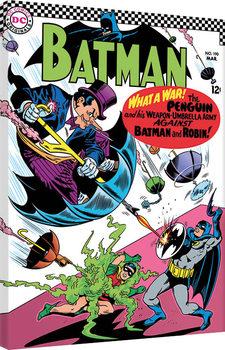 Canvas Print Batman - What a War