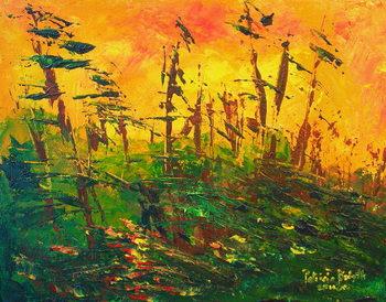 Bayou, 2011 Canvas Print