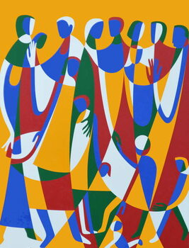 Be Patterns, Be Examples, 1998 Canvas Print