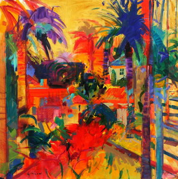 Beverly Hills Canvas Print